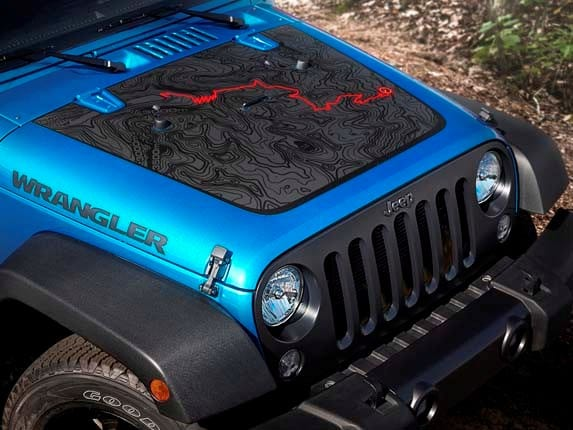 wrangler bear edition jeep hood decal unlimited unveiled sport kelley am kbb pass