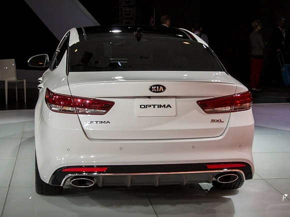 2016 Kia Optima Matures Without A Hint Of Gray Kelley