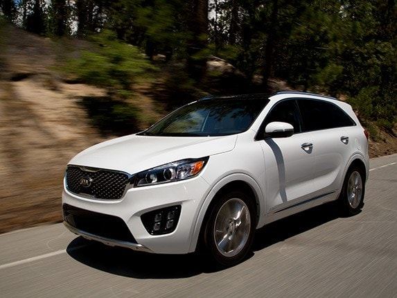 Midsize Suv Comparison 2016 Kia Sorento Kelley Blue Book