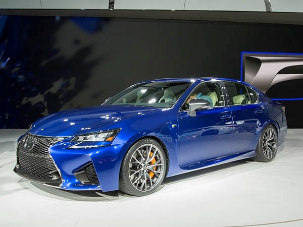 2016 lexus gs f set for detroit kelley blue book. Black Bedroom Furniture Sets. Home Design Ideas