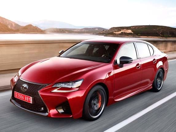2016 Lexus GS F First Review: Fun in the fast lane ...