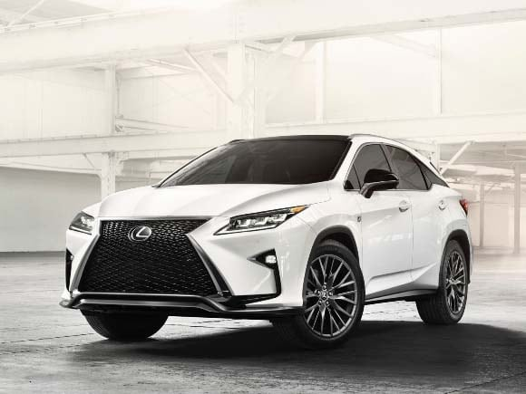 2016 lexus rx new look a calculated risk   kelley blue book