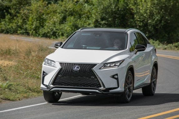 Creative 2016 Lexus RX First Review Striking On The Outside
