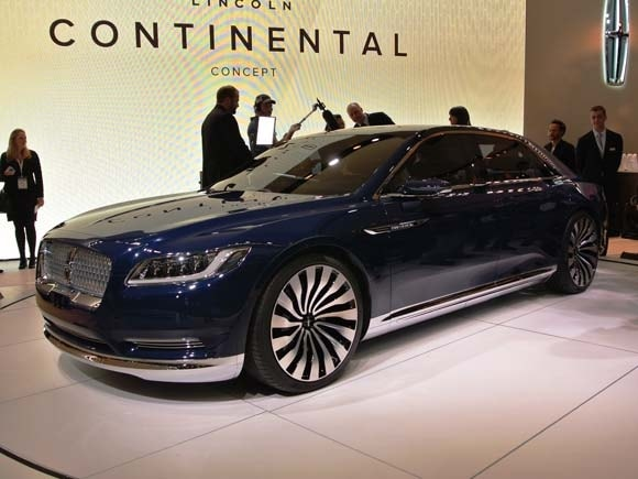Lincoln Continental Concept Shines In New York Kelley Blue Book
