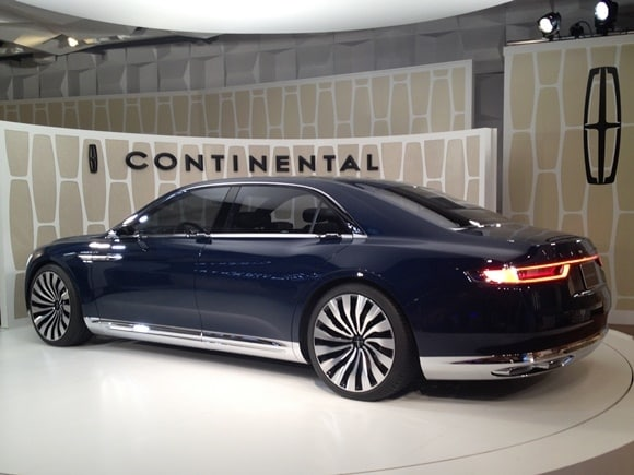 Lincoln Continental Concept Shines In New York Kelley