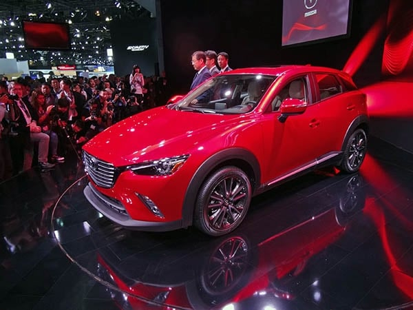 2016 Mazda CX 3   A Small, Sporty And Cool Newcomer