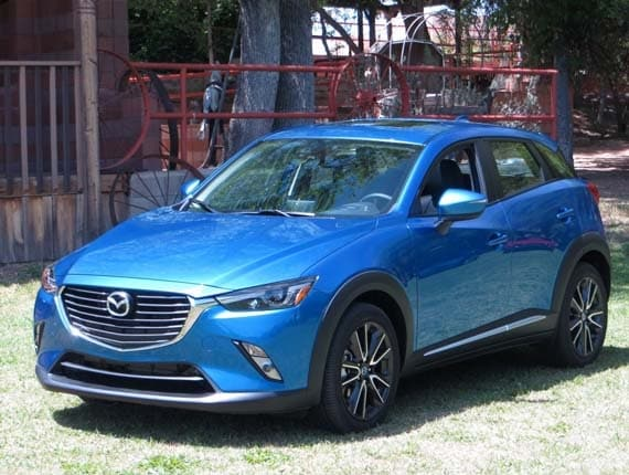 2016 mazda cx 3 first review small stylish sporty kelley blue book. Black Bedroom Furniture Sets. Home Design Ideas