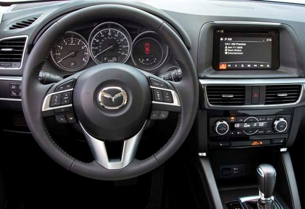 Mazda CX An Impressive Refresh Adds More Appeal Kelley - Mazda cx 5 dashboard lights