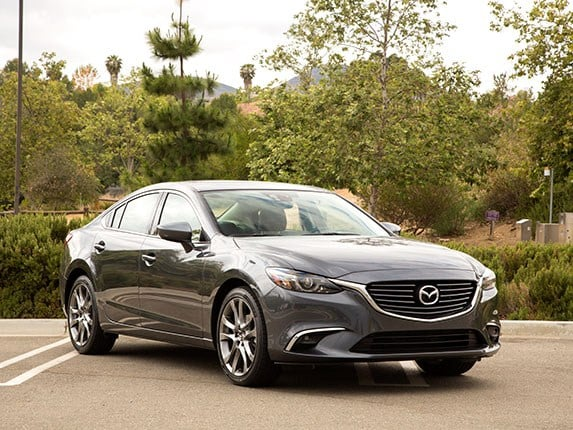 midsize sedan comparison 2016 mazda6 kelley blue book. Black Bedroom Furniture Sets. Home Design Ideas