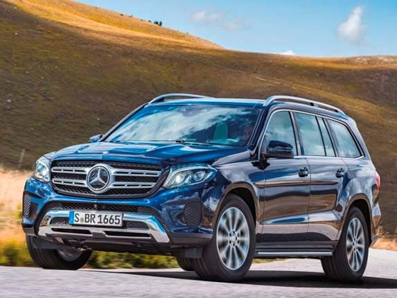 2017 mercedes benz gls class unveiled kelley blue book for The latest mercedes benz