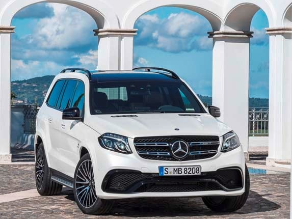 2017 mercedes benz gls class unveiled kelley blue book. Black Bedroom Furniture Sets. Home Design Ideas