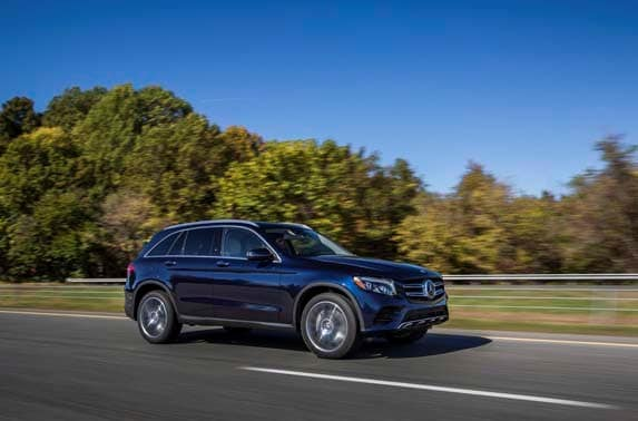 2016 mercedes benz glc 300 review bigger and more for Mercedes benz blue book