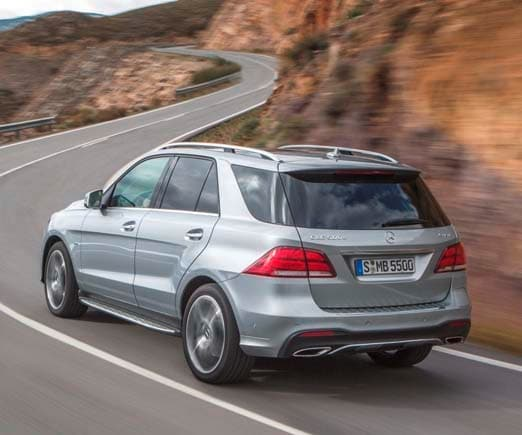 2016 Mercedes-Benz GLE-Class -- New Name And A Plug-in