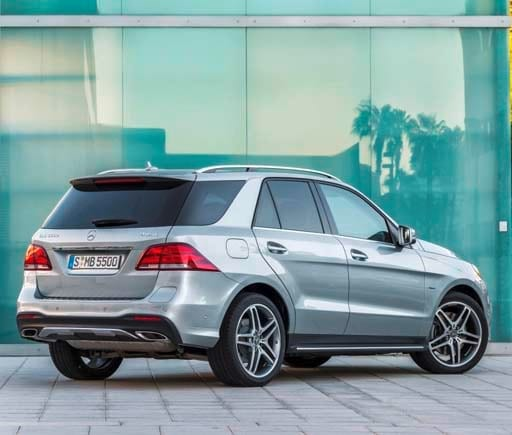 2016 Mercedes Benz Gle Coupe Suspension: 2016 Mercedes-Benz GLE-Class -- New Name And A Plug-in