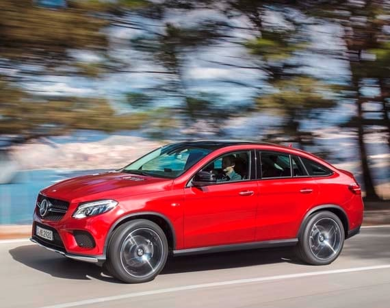 2016 mercedes benz gle 450 amg 4matic coupe unveiled for Mercedes benz blue book