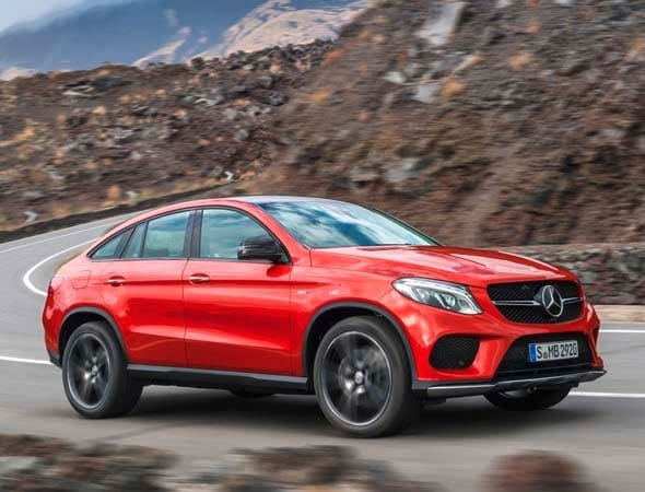 2016 Mercedes Benz Gle Coupe Athletic Crossover Bows