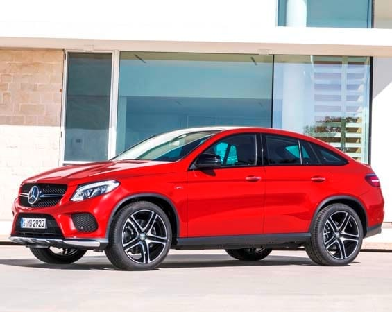 2016 Mercedes Benz Gle Coupe Athletic Crossover Bows Kelley Blue Book