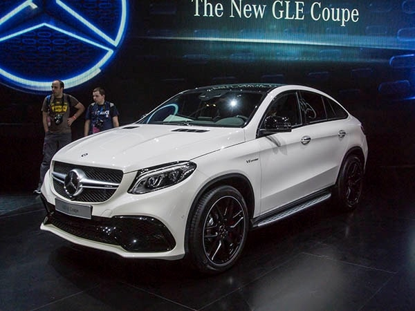 2016 Mercedes-Benz GLE Coupe: Athletic crossover bows - Kelley Blue Book