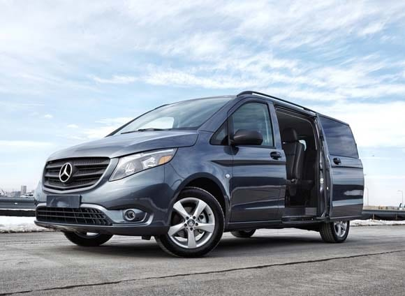 Ford Transit 12 Passenger Van >> 2016 Mercedes-Benz Metris Vans revealed, on sale in October - Kelley Blue Book