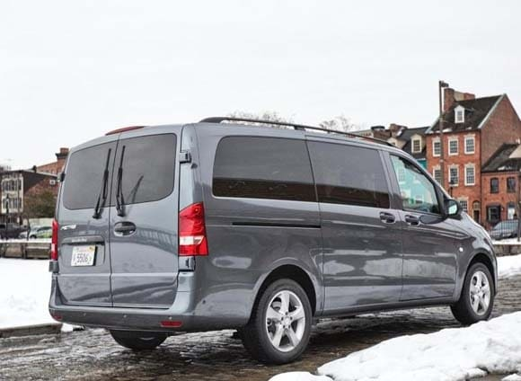 2016 mercedes benz metris vans revealed on sale in for Mercedes benz work vans