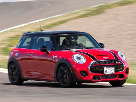 2015 mini cooper jcw hardtop first review | kelley blue book