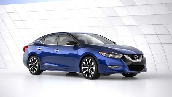 2016 Nissan Maxima Bows In New York