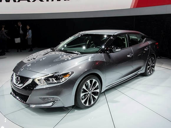 2016 nissan maxima bows in new york kelley blue book. Black Bedroom Furniture Sets. Home Design Ideas