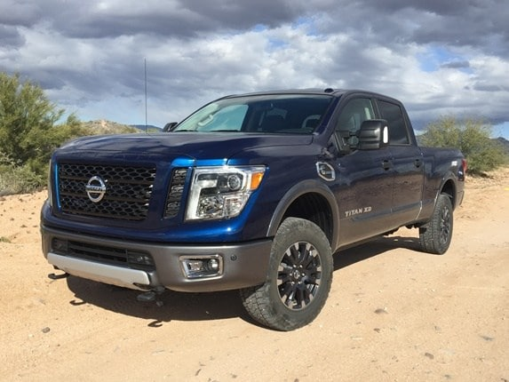 2016 Nissan Titan Xd First Review Kelley Blue Book