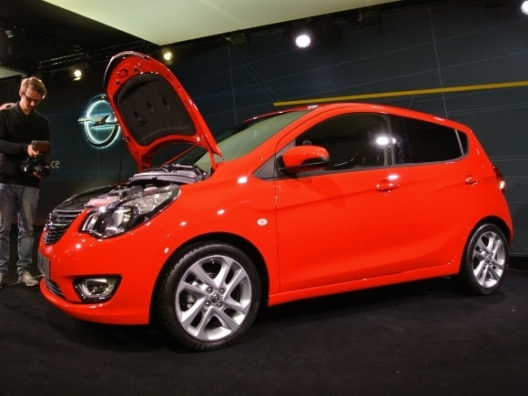 2016 opel karl slick subcompact previews 2016 chevy spark. Black Bedroom Furniture Sets. Home Design Ideas