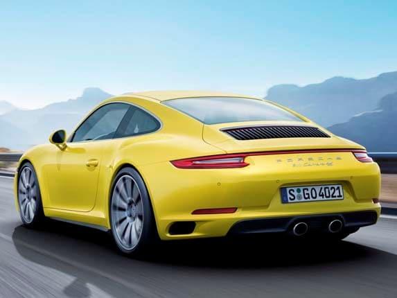 2017 Porsche 911 Carrera 4 Goes Turbo Kelley Blue Book