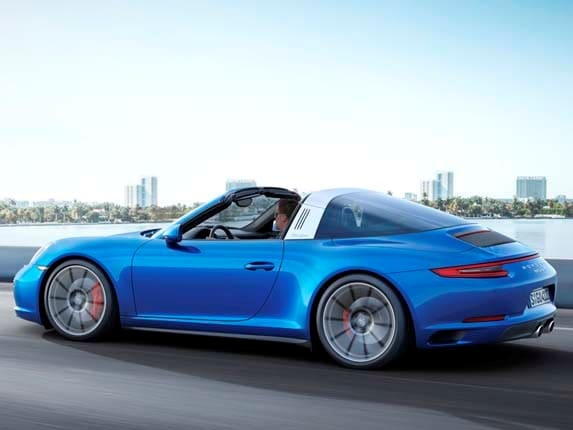 2017 Porsche 911 Carrera 4 Goes Turbo Kelley Blue Book