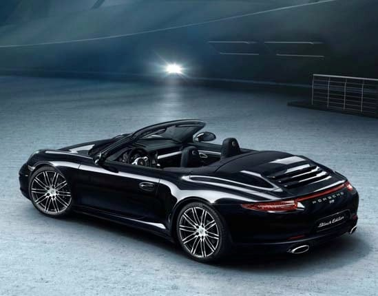 2016 Porsche 911 Carrera And Boxster Black Editions
