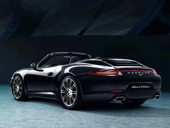 2016 Porsche 911 Carrera and Boxster Black Editions ...