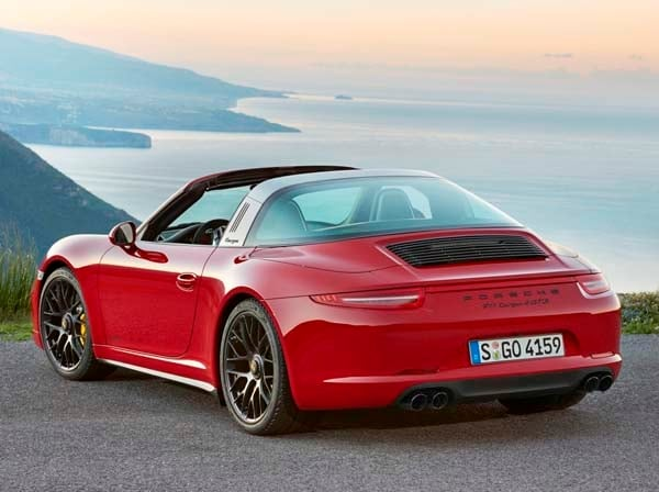 2016 Porsche 911 Targa 4 Gts Revealed Kelley Blue Book