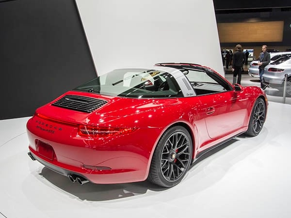 2016 porsche 911 targa 4 gts revealed kelley blue book. Black Bedroom Furniture Sets. Home Design Ideas