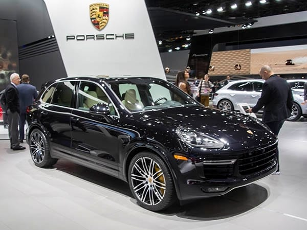 although a refreshed porsche cayenne lineup made its debut in paris last fall its top model was conspicuously absent from the gathering