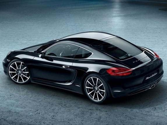 2016 Porsche Cayman Black Edition Revealed Kelley Blue Book