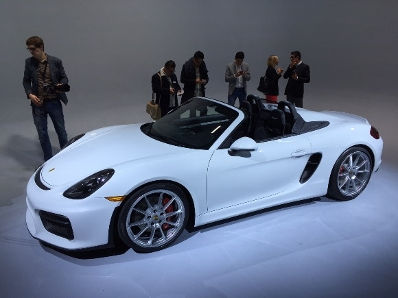 2016 Porsche Boxster Spyder The Most You Name It