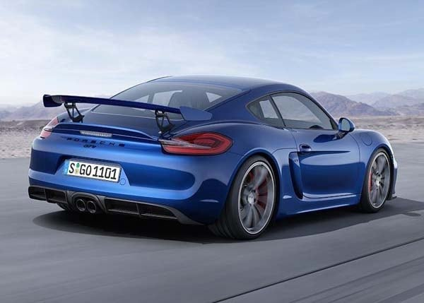 2016 porsche cayman gt4 revealed   kelley blue book