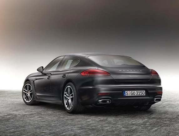 2016 Porsche Panamera Edition Elegant and exclusive  Kelley Blue
