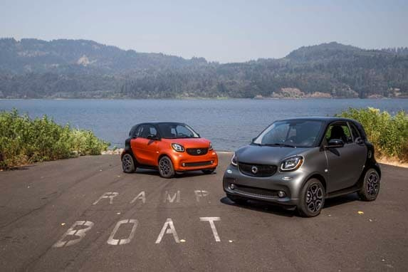 2016 Smart ForTwo First Review - Kelley Blue Book
