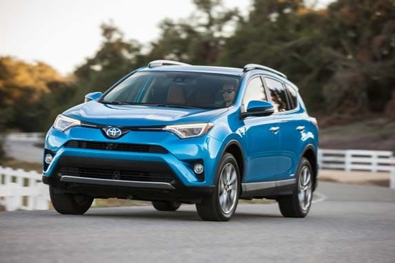 2016 Toyota Rav4 Hybrid First Review Kelley Blue Book