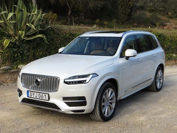 2016 volvo xc90 t8 twin engine plug in to start at 72 595