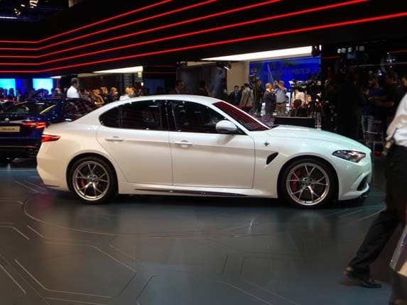 alfa romeo giulia quadrifoglio priced for europe | kelley blue book