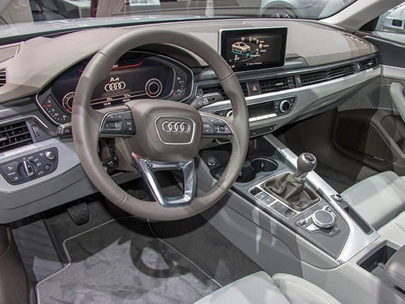 2017 audi a4 set for frankfurt debut kelley blue book. Black Bedroom Furniture Sets. Home Design Ideas