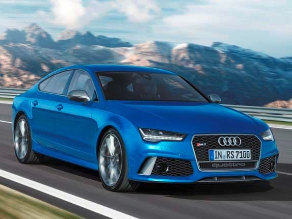 2017 Audi Rs7 Sportback U S Bound Kelley Blue Book