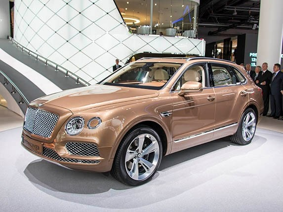 The 2017 Bentley Bentayga Will Start At 229 100 Plus Destination Fees When It Goes On Here In Mid 2016