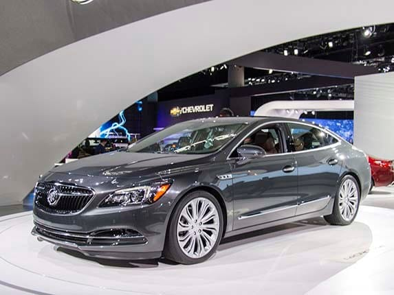 The 2017 Buick Lacrosse Unveiled At Los Angeles Auto Show Showcases A Combination Of Refined Style Dramatically Upscale Interior And Host New
