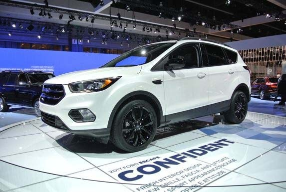 2017 Ford Escape Redesigned Bows In L A