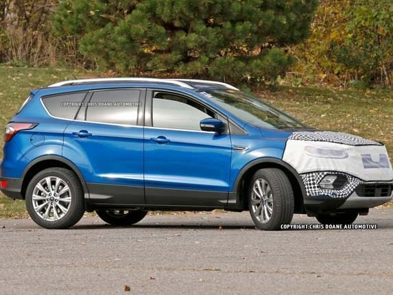 2020 Ford Escape spotted - Kelley Blue Book